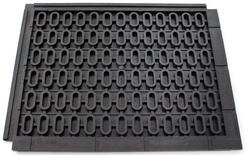 Бронепласт. Промышленное модульное напольное ПВХ покрытие.