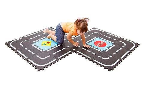 Мягкий пол для детских комнат / Для детей / Каталог