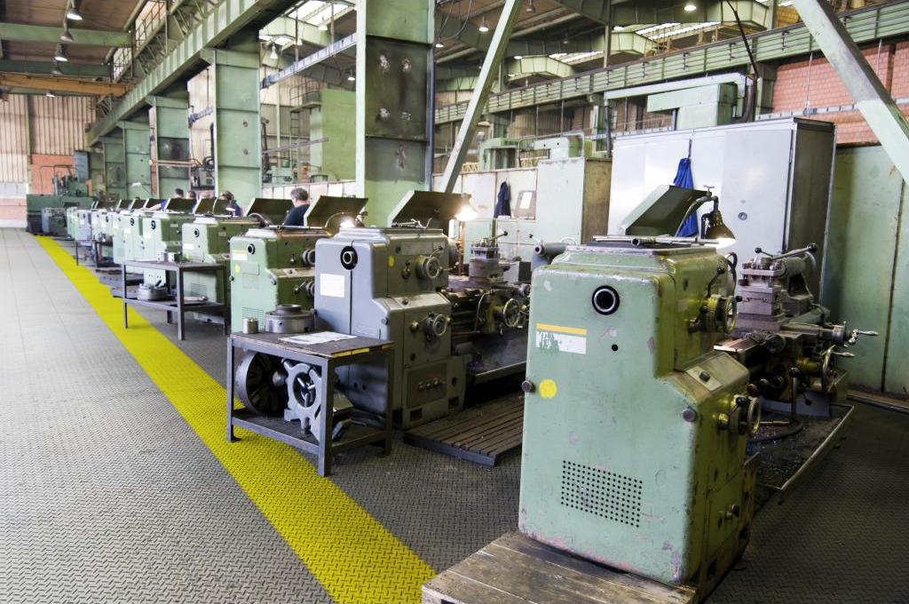 Модульные ПВХ покрытия для производств