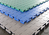 M-Tile SportLine. Модульное покрытие с пониженой жесткостью.